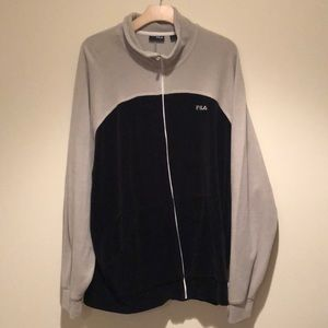 Fila Velvet Track Jacket